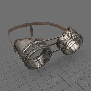 Antique steampunk goggles 3