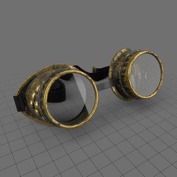 Antique steampunk goggles 2