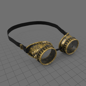 Antique steampunk goggles 1
