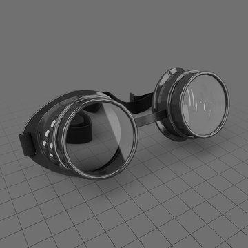 Steampunk goggles 2