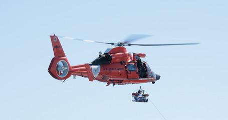 United States Coast Guard Rescue off the coast of Puerto Rico.