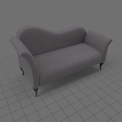 Modern fainting couch