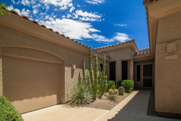 South west style home in Phoenix