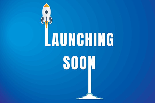 Creative Launching Soon Poster Design.