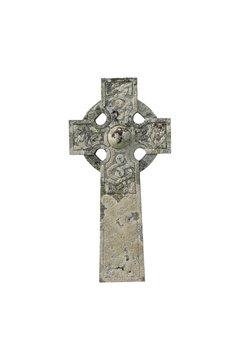keltisches Kreuz freigestellt