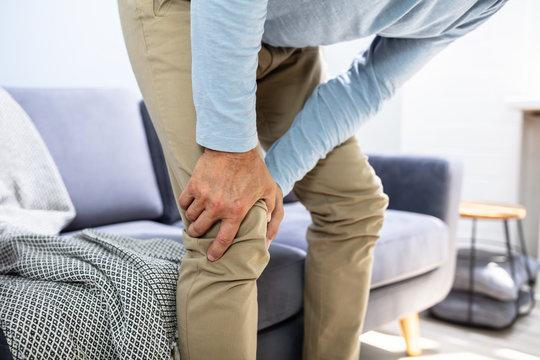 Man Having Knee Pain