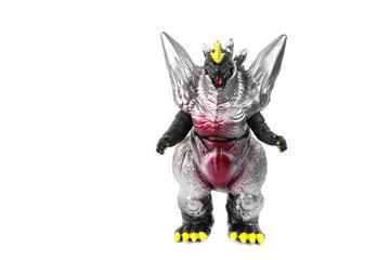 Monster toys Plastic For children isolated over white background