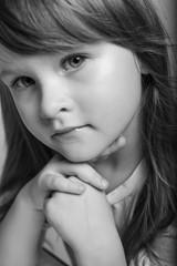 Beautiful portrait of a little girl.