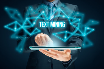Text mining and analysis concept