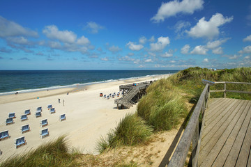 Fototapete - in Sylt am Strand