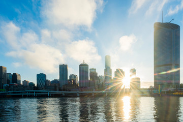 Sunrise from South Bank, Brisbane 7
