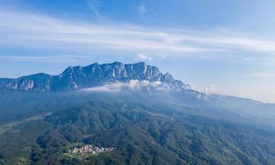 mount lushan landscape of wulao peak