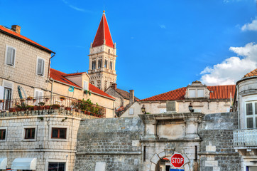 The Cathedral of St. Lawrence in Trogir, Croatia