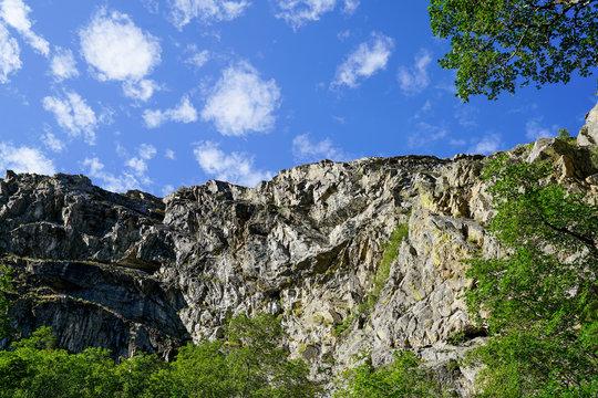 View along Adams Canyon trail near Layton, Utah