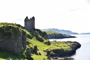 Gylen Castle, Kerrera, Argyll, Scotland