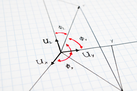 vector descomposition - physics, mathematics