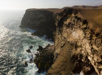 140 m cliff near Huarmey city, in Ancash, Peru