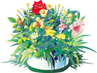 お祝いの花や儀式の花