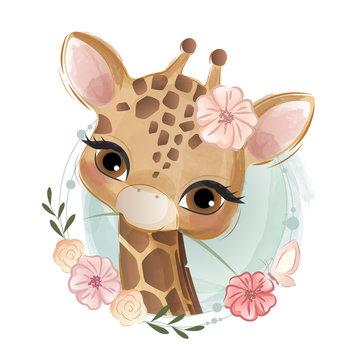 Cute Fox Portrait