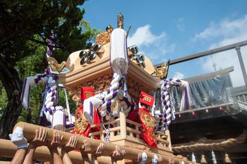 播州姫路の秋祭り・浜の宮天満宮