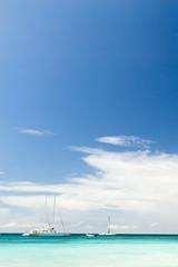 The azure sea