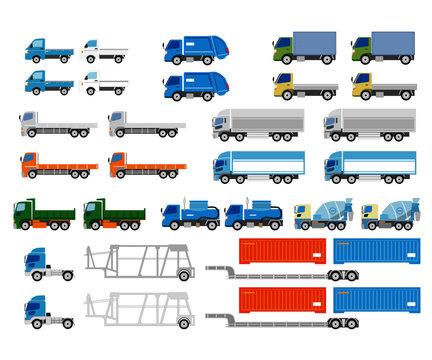 日本のトラックセット