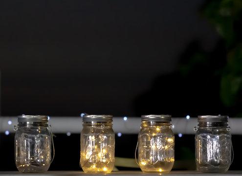 jars on the bar