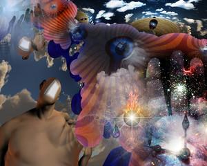Obraz Open mind - fototapety do salonu
