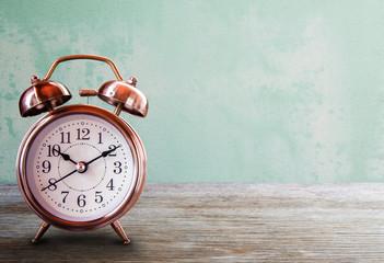 Save time savings daylight up retro waking school. Wall mural