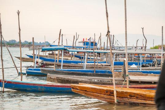 Champassak - Local port on Mekong River