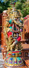 traditional souvenir from India is the figure of the goddess Shiva.