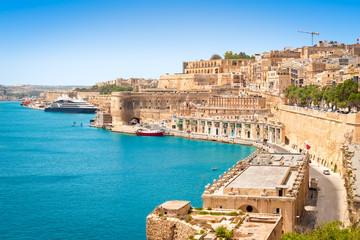 Fotomurales - Port of Valletta, Malta