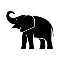 Elephant logo. Icon design. Template elements