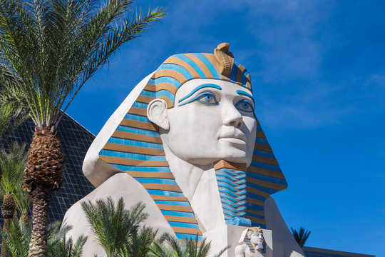 The Great Sphinx of Giza at Luxor Las Vegas