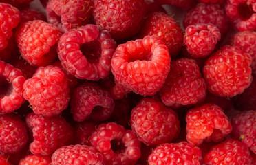 Fresh raspberries Fototapete