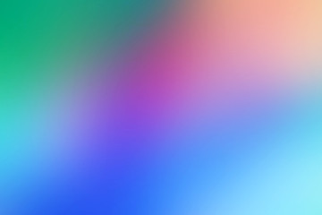 Conceptual abstract blurred, gradient, multicolour, artistic background