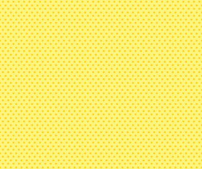 Pop art yellow seamless dots background