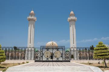 The Bourguiba mausoleum in Monastir, Tunisia.