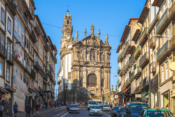 Clerigos Tower and Church at porto, portugal