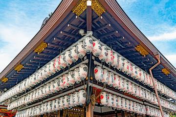 京都 八坂神社 舞殿
