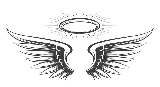 Saint wings sketch