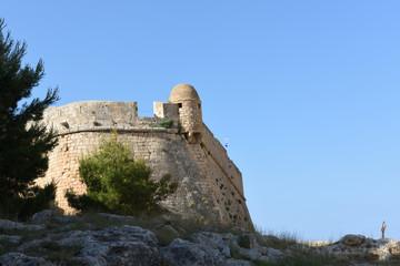 Fortezza von Rethymno auf kreta in griechenland