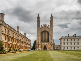 Kings college University and chapel in Cambridge, England Fototapete