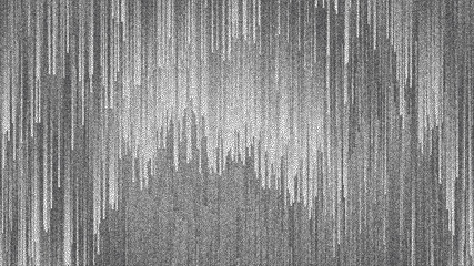 Stippled Dotwork Dynamic Flow Lines Glitch Art Abstract Background In Ultra High Definition Quality. Grainy Dotted Texture Wall mural