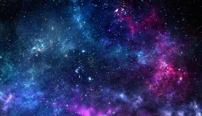 Colorful graphics for background, like water waves, clouds, night sky, universe, galaxy.