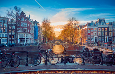 Printed kitchen splashbacks Amsterdam Awesome streets in Amsterdam