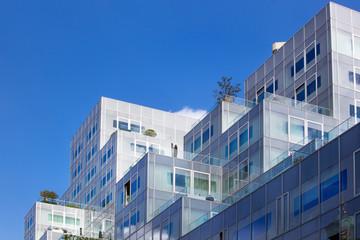 Foto auf Acrylglas Rotterdam Modern apartments in the center of Rotterdam