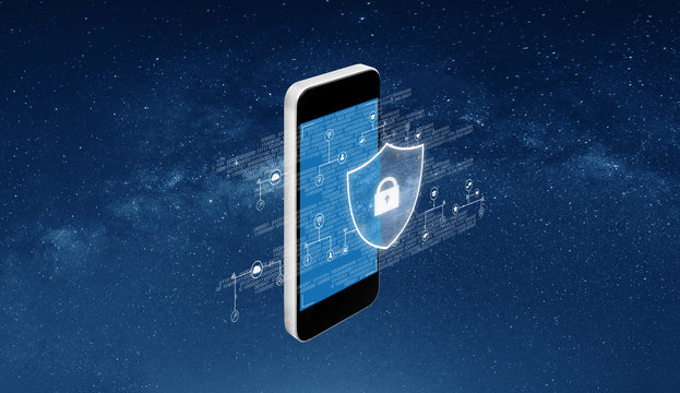 Digital data security and mobile phone security technology