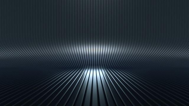 Stylish luxury elegant studio pedestal background. 3d illustration, 3d rendering.