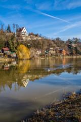Berounka River - Cernosice, Prague, Czech Republic
